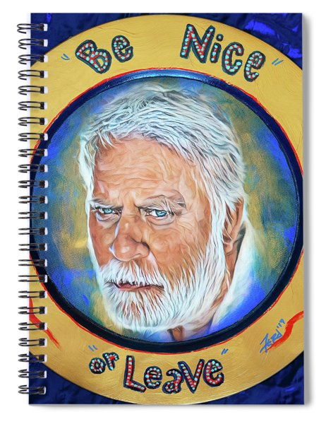 The Harbor Master's Motto Spiral Notebook