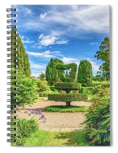The Harp Spiral Notebook