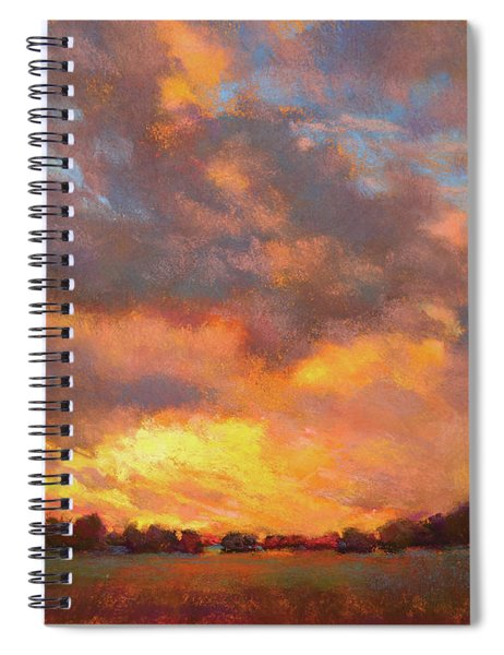 The Heavens Declare His Glory Spiral Notebook