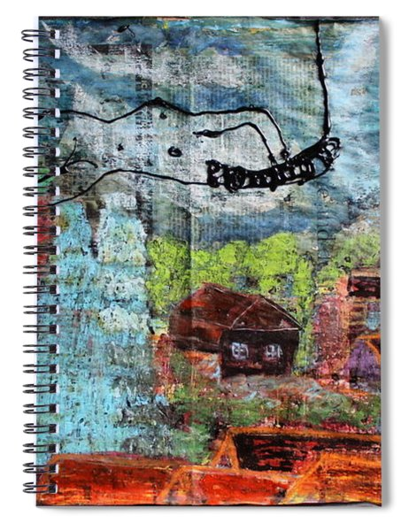 The Hues Brightened Life Seems Good Spiral Notebook