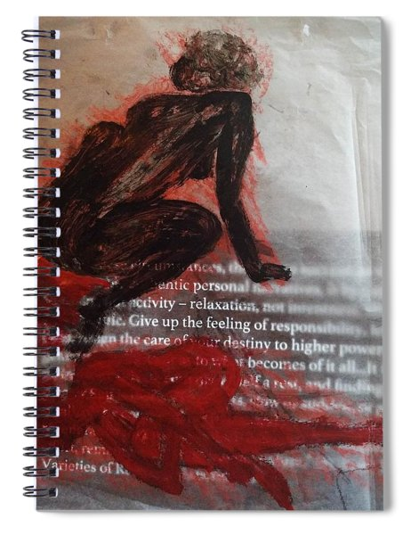 The Immolation Spiral Notebook
