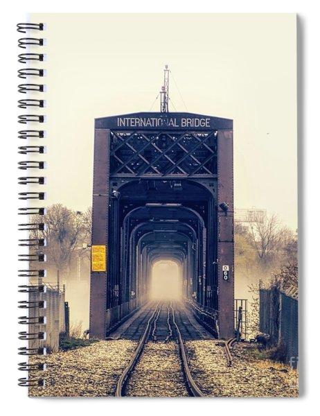 The Internation Railroad Bridge Spiral Notebook