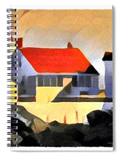 The Keeper's Cottage Spiral Notebook