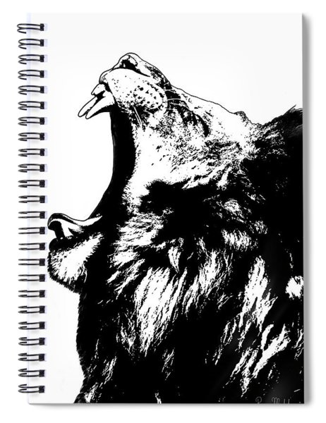 The King Lion Spiral Notebook