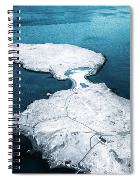 The Land Of Solitude Spiral Notebook