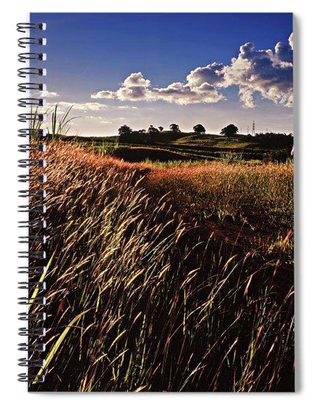 The Last Grassy Field, Trinidad Spiral Notebook