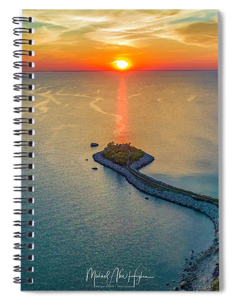 The Last Ray Spiral Notebook