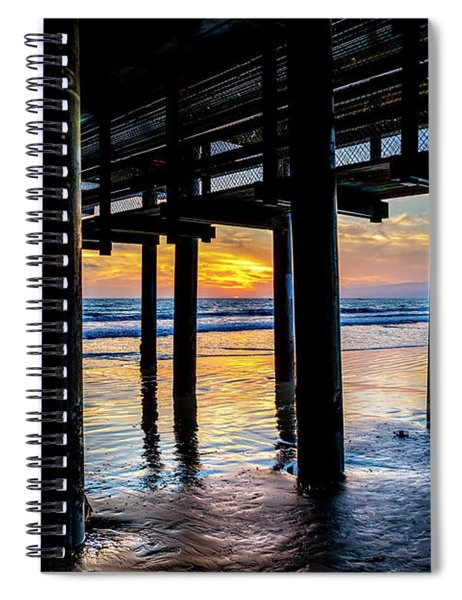 The Light Downunder Spiral Notebook