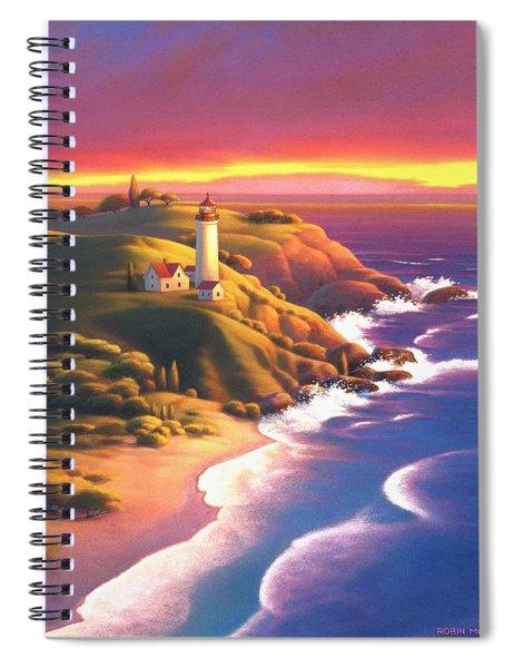 The Light House  Spiral Notebook