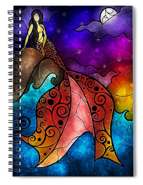 The Little Mermaid Spiral Notebook