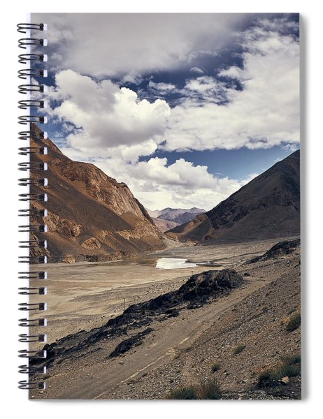 The Long Journey Spiral Notebook