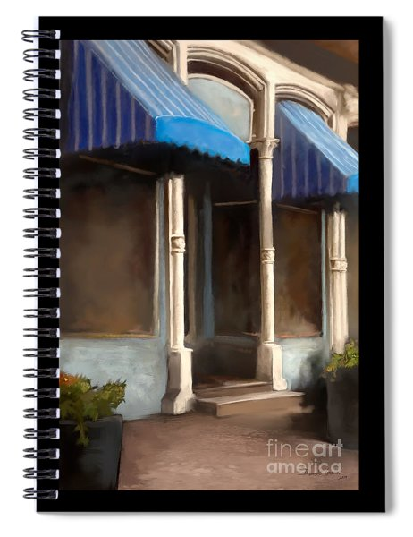 The M Cafe Spiral Notebook