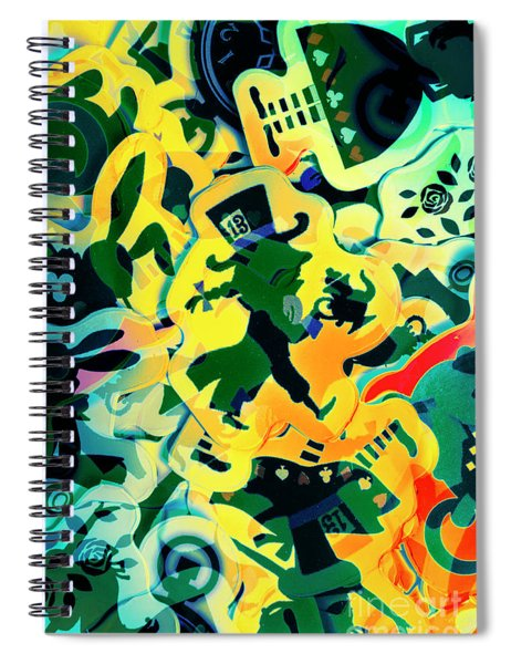 The Madness Is Real Spiral Notebook