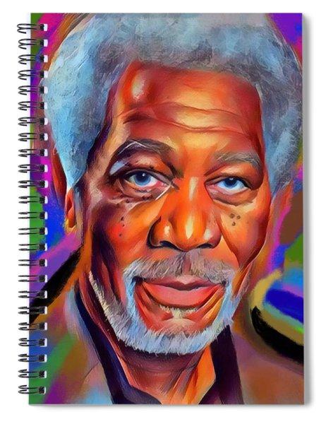 The Man Spiral Notebook