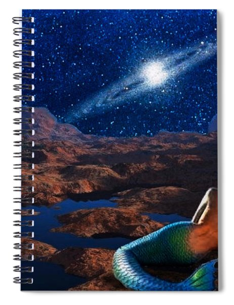 The Meditative Mermaid Spiral Notebook