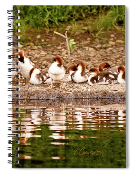 The Merganser Team Spiral Notebook