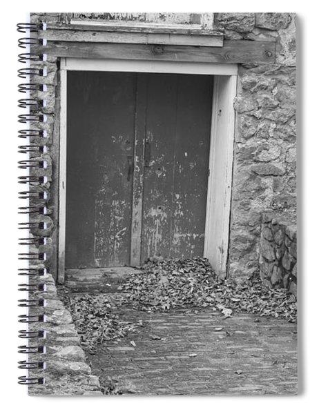 The Mill Door - Waterloo Village Spiral Notebook
