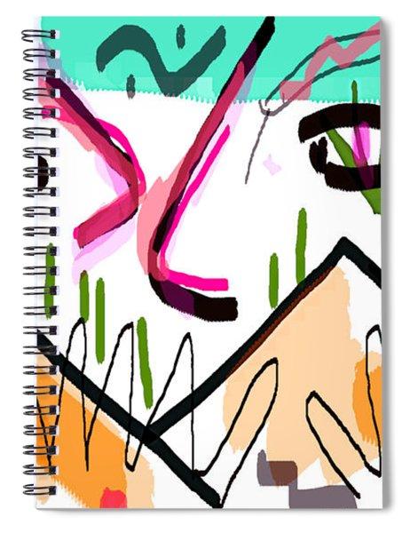 the nabu at Christmas  Spiral Notebook