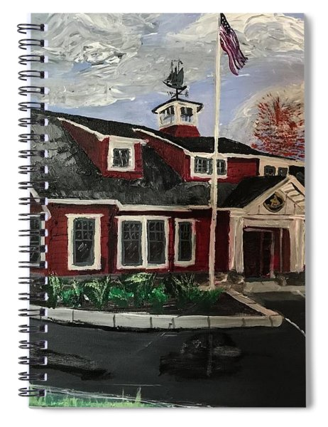 The New Dover, Nh Branch Spiral Notebook