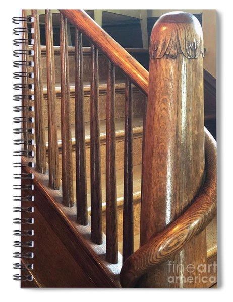 The Newel Post Spiral Notebook