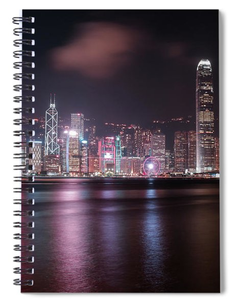 The Night From Hongkong Spiral Notebook