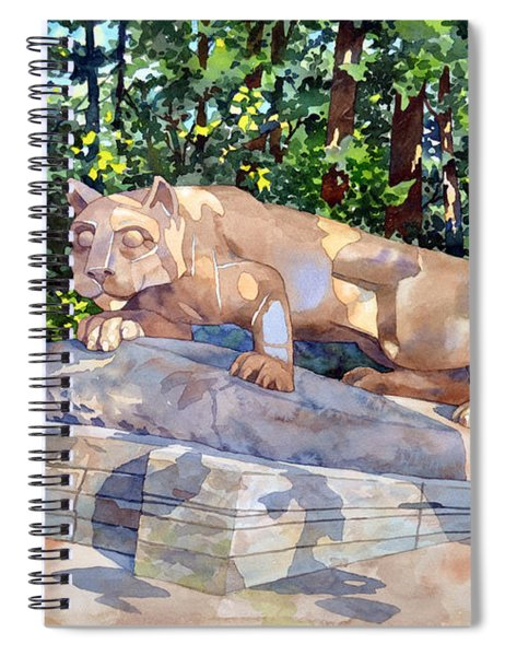 The Nittany Lion Spiral Notebook