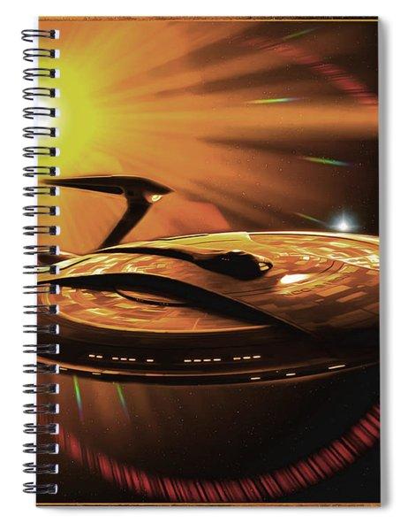 The Nova Star Spiral Notebook