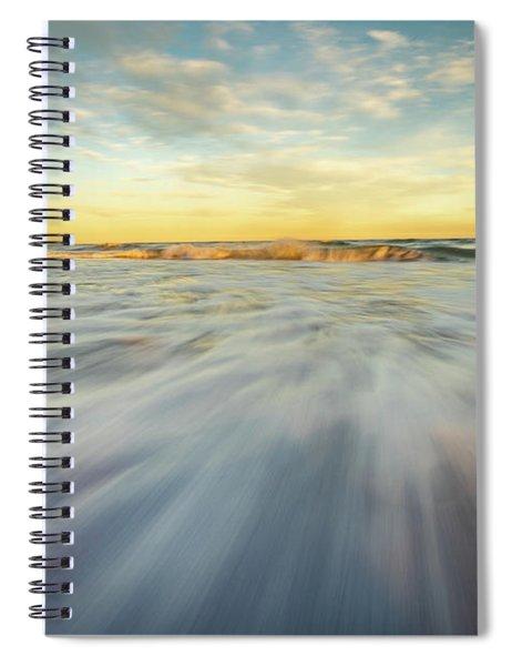 The Ocean 1 Spiral Notebook