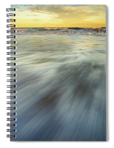 The Ocean 2 Spiral Notebook