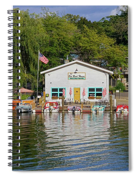 The Old Boat House Spiral Notebook
