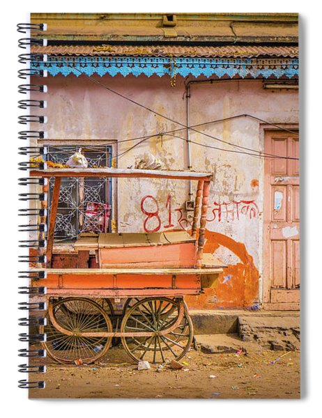 The Old Cart Jaipur Spiral Notebook