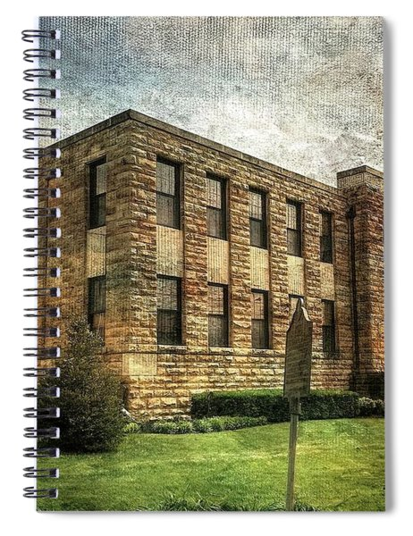 The Old County Courthouse Spiral Notebook