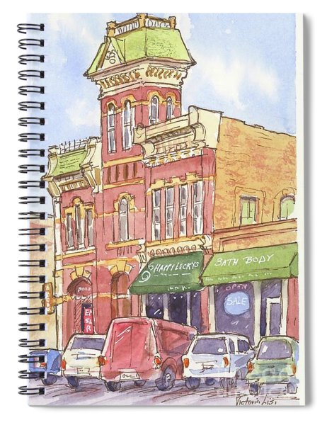 The Old Fire House Spiral Notebook