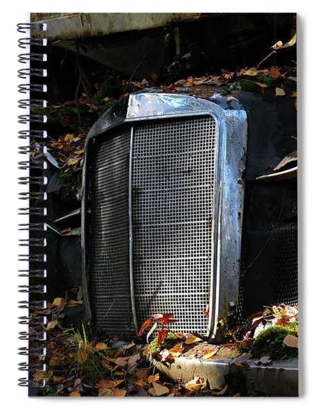 The Old Mercedes Spiral Notebook