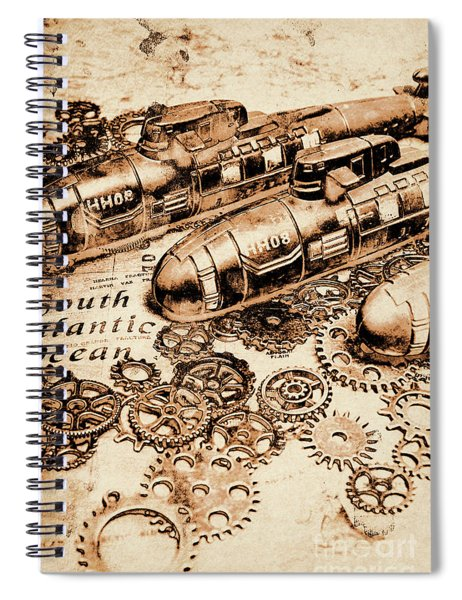 The Old Naval War Room Spiral Notebook