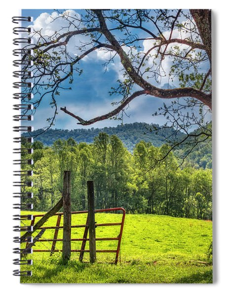 The Old Red Gate Spiral Notebook