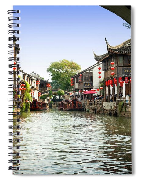 The Oriental Venice Spiral Notebook