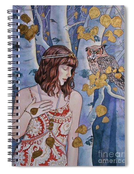 The Owl's Secret Spiral Notebook