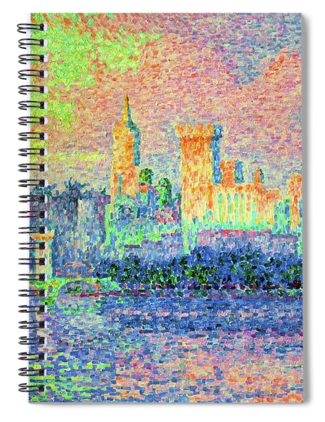 The Papal Palace, Avignon - Digital Remastered Edition Spiral Notebook