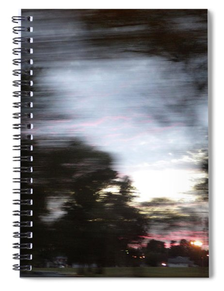 The Passenger 01 Spiral Notebook