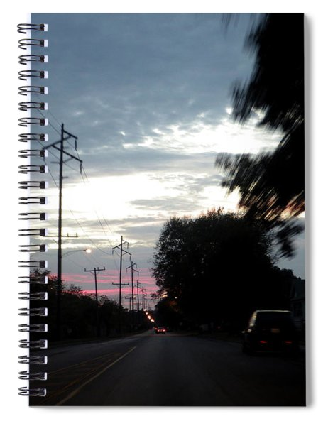 The Passenger 02 Spiral Notebook