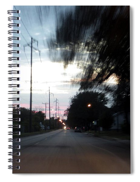 The Passenger 03 Spiral Notebook