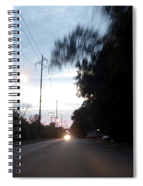 The Passenger 04 Spiral Notebook