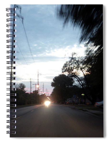 The Passenger 05 Spiral Notebook