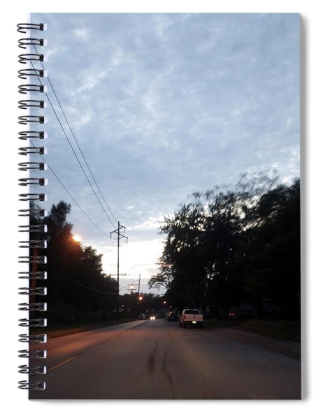 The Passenger 06 Spiral Notebook
