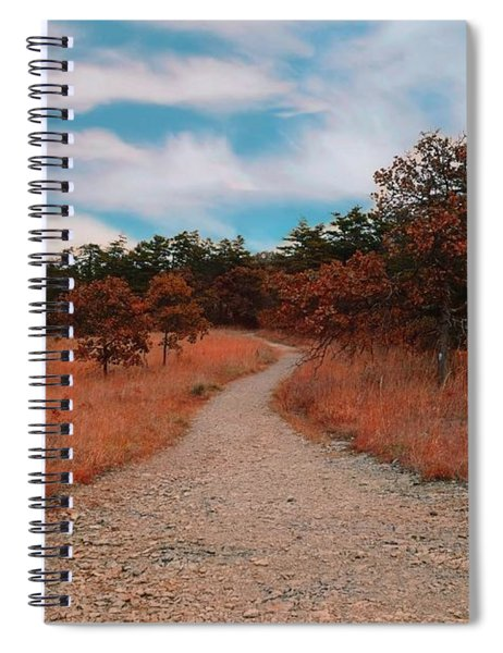 The Path To Enlightenment Spiral Notebook