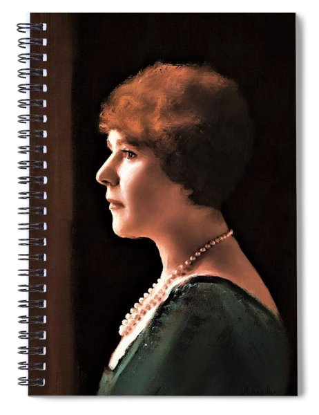The Pearl Necklace Spiral Notebook