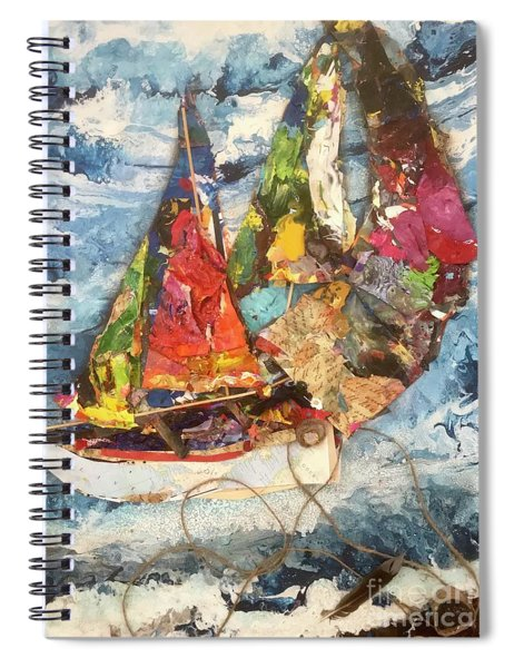 The Perfect Storm Spiral Notebook