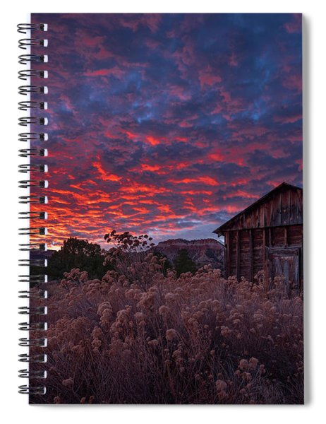The Perfect Sunset Spiral Notebook