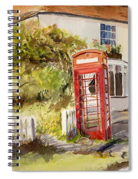 The Phone Box, Appledore Spiral Notebook